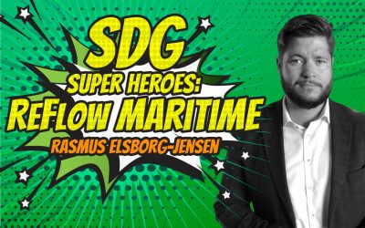 SDG Super Heroes – Rasmus Elsborg-Jensen