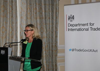 Bronwen V. Moore, Country Director of DIT Austria