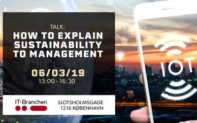 How to explain Sustainability to Management