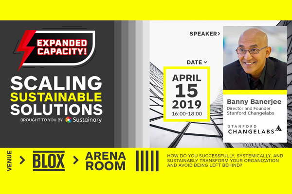 InterACTIVE TALK: Scaling Sustainable Solutions
